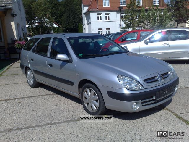 2003 Citroen  Xsara Kombi 1.4 SX, EURO and D4 Estate Car Used vehicle photo