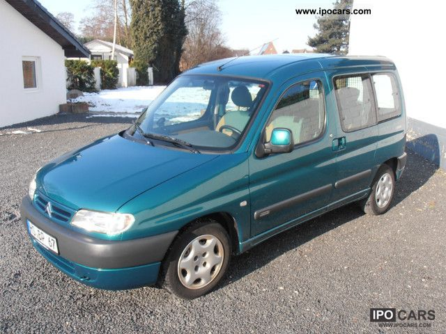2001 Citroen  Berlingo including AIR, 2 sliding doors, radio!! Van / Minibus Used vehicle photo