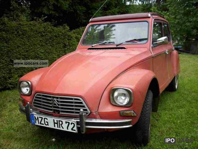 Citroen  Dyane 6 1977 Vintage, Classic and Old Cars photo