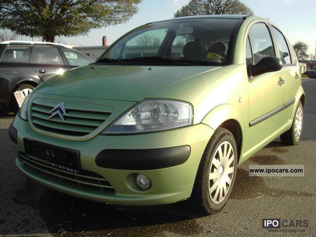 2003 citroen c3 1 4 hdi 16v klimaanlage car photo and specs. Black Bedroom Furniture Sets. Home Design Ideas