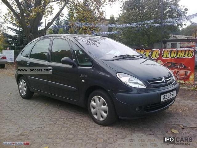 2001 citroen xsara picasso air sprowadzony zobacz car photo and specs. Black Bedroom Furniture Sets. Home Design Ideas
