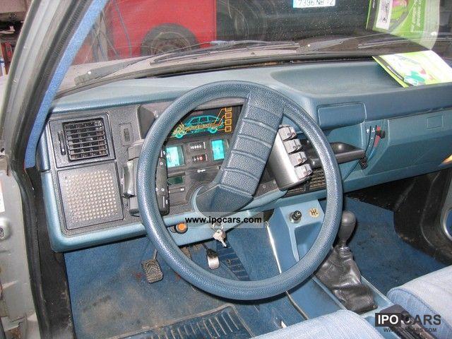 E85 Flex Fuel >> 1980 Citroen GSA Pallas - Car Photo and Specs