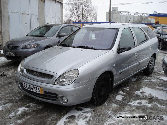 2003 Citroen Xsara Kombi 2 0 Hdi Top Car Photo And Specs