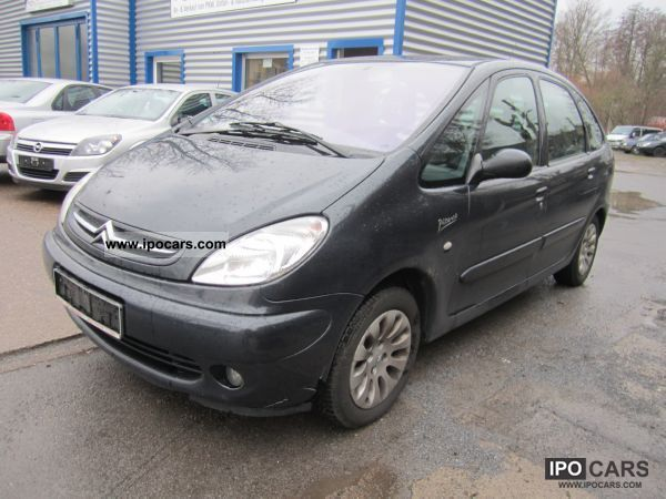 2003 citroen xsara picasso exclusive climate control car photo and specs. Black Bedroom Furniture Sets. Home Design Ideas