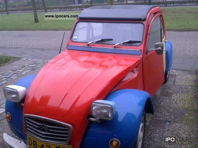 Citroen  2 CV 1978 Vintage, Classic and Old Cars photo