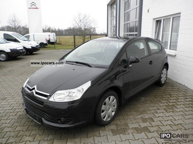 2006 citroen c4 coupe vtr hail damage export car photo and specs. Black Bedroom Furniture Sets. Home Design Ideas