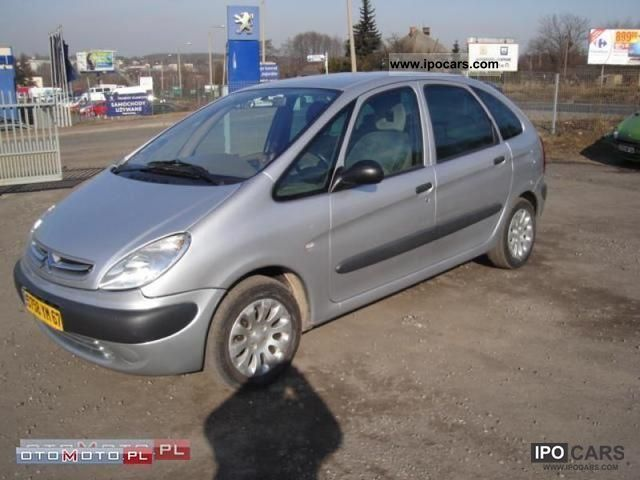 2001 Citroen  Xsara Picasso DIESEL HDI climate control ALUMY Small Car Used vehicle photo