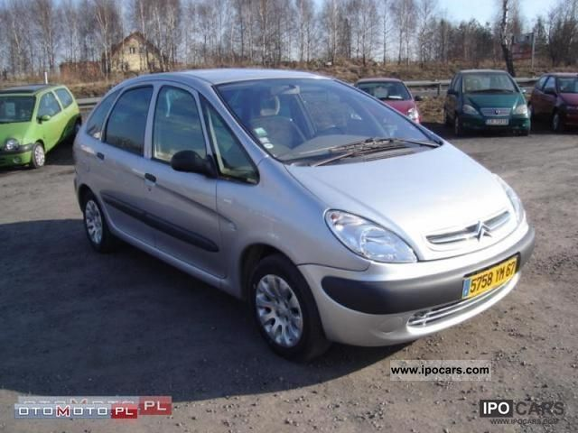 2001 citroen xsara picasso diesel hdi climate control alumy car photo and specs. Black Bedroom Furniture Sets. Home Design Ideas