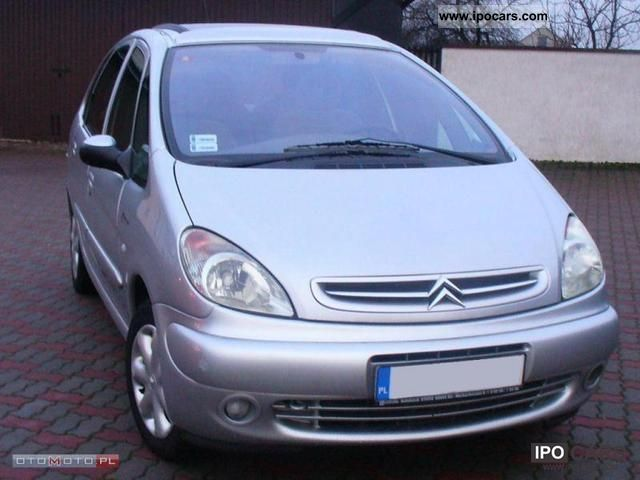 2002 citroen xsara picasso hdi klimatrn panorama zarjstr car photo and specs. Black Bedroom Furniture Sets. Home Design Ideas