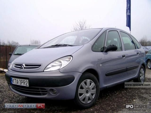 2000 citroen xsara picasso hdi salon pl zadbany klim car photo and specs. Black Bedroom Furniture Sets. Home Design Ideas