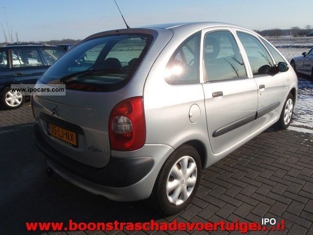 2003 citroen xsara picasso 1 8i 16v plaisir g3 car photo and specs. Black Bedroom Furniture Sets. Home Design Ideas
