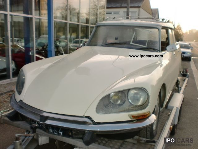 Citroen  Citroen DS 20 Break Year 1976 \ 1976 Vintage, Classic and Old Cars photo