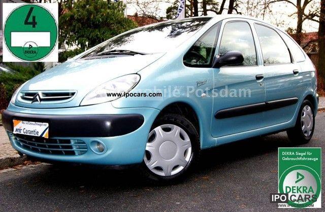 2000 Citroen  Xsara Picasso 1.8i Exclusive * New * Service * DEKRA Van / Minibus Used vehicle photo