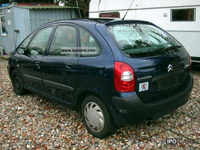 2005 citroen xsara picasso 1 6 hdi 110 hp car photo and specs. Black Bedroom Furniture Sets. Home Design Ideas