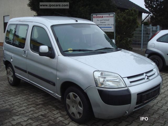 2004 citroen berlingo multispace 2 0 hdi euro 3 air car photo and specs. Black Bedroom Furniture Sets. Home Design Ideas