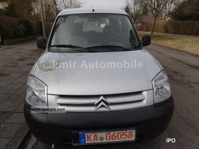 Citroen  Berlingo 4.1 Bivalent 600 Level B 2005 Compressed Natural Gas Cars (CNG, methane, CH4) photo