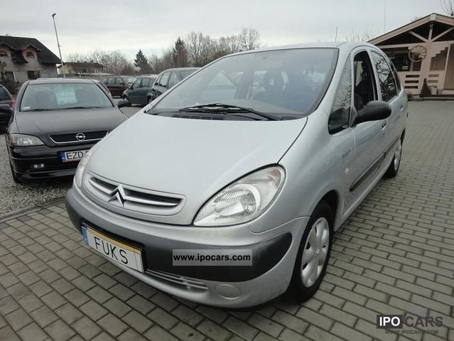 Citroen  Xsara Picasso * GAZ * BENZYNA-ZADBANA * 2001 Liquefied Petroleum Gas Cars (LPG, GPL, propane) photo