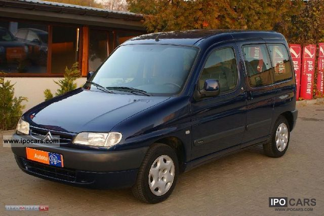 Citroen  Berlingo 2001 Liquefied Petroleum Gas Cars (LPG, GPL, propane) photo