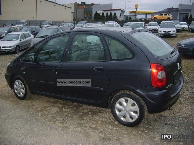 2003 citroen xsara picasso 1 8 op acony 115km car photo and specs. Black Bedroom Furniture Sets. Home Design Ideas