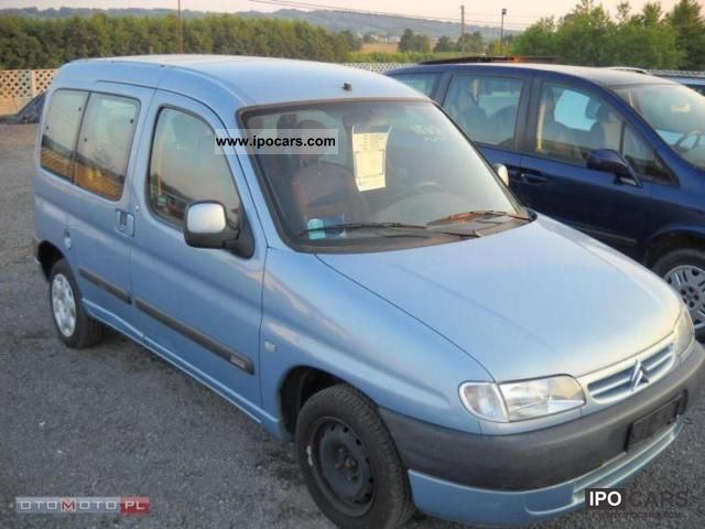 2002 citroen berlingo car photo and specs. Black Bedroom Furniture Sets. Home Design Ideas