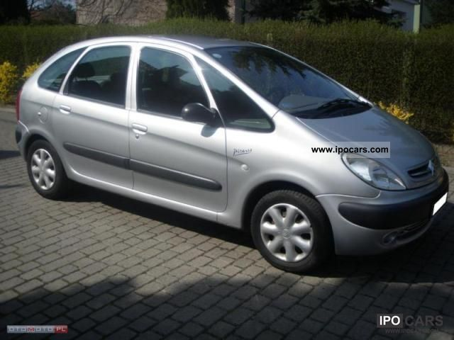 2001 citroen xsara picasso air tronic 2 0 hdi car photo and specs. Black Bedroom Furniture Sets. Home Design Ideas