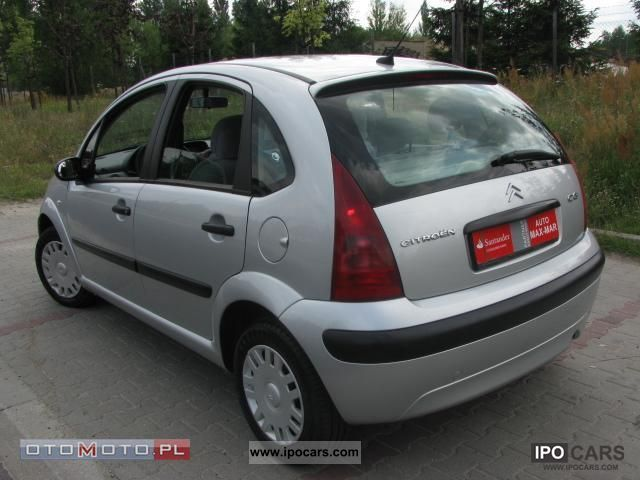 2005 citroen c3 zadbany car photo and specs. Black Bedroom Furniture Sets. Home Design Ideas