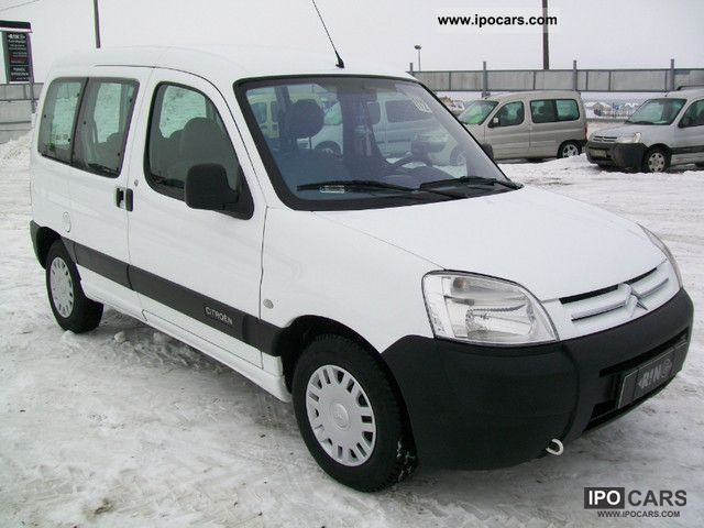 2003 citroen berlingo air 5 osob 1 9 d model 04r car photo and specs. Black Bedroom Furniture Sets. Home Design Ideas