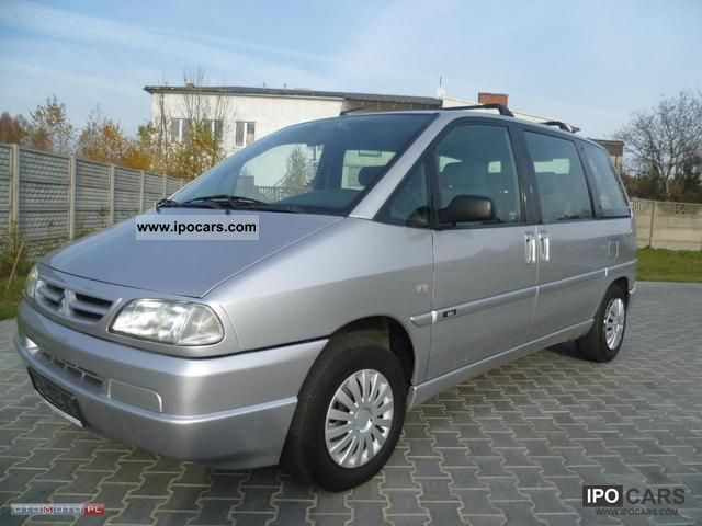 Citroen  Evasion 1.8 + BENZ GAZ, 7 MIEJSCOWY 2000 Liquefied Petroleum Gas Cars (LPG, GPL, propane) photo