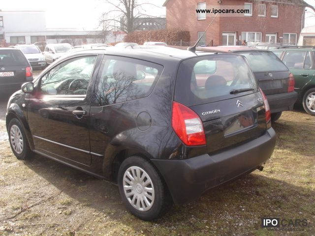 2006 citroen c2 1 4 hdi hand of 1 car photo and specs. Black Bedroom Furniture Sets. Home Design Ideas
