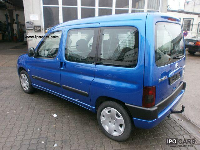 2004 citroen berlingo multispace 2 0 hdi car photo and specs. Black Bedroom Furniture Sets. Home Design Ideas
