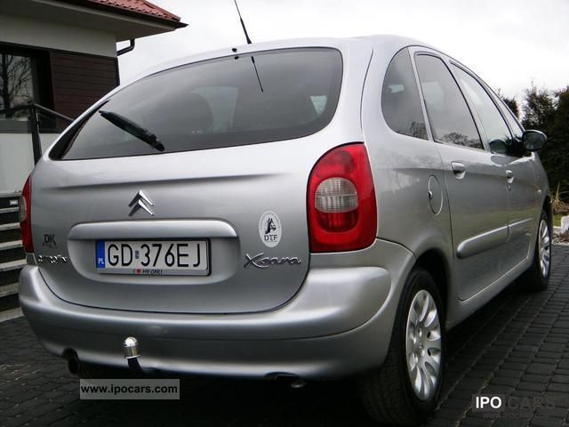 2002 citroen xsara picasso zarejestrowany air navi tronic car photo and specs. Black Bedroom Furniture Sets. Home Design Ideas