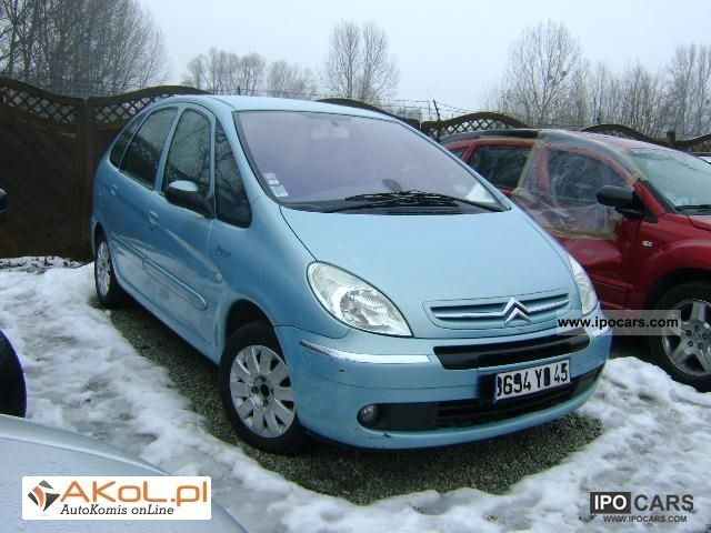 2005 citroen xsara picasso 2 0 hdi 2 0 hdi bezwypadkowy car photo and specs. Black Bedroom Furniture Sets. Home Design Ideas