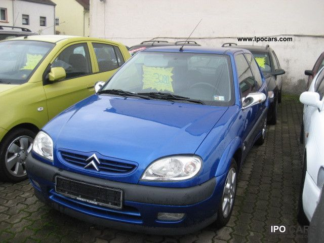 2003 citroen saxo vts 1 4 verspoilert alus car photo and specs. Black Bedroom Furniture Sets. Home Design Ideas