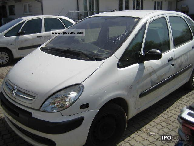 2006 citroen xsara picasso 2 0 hdi confort car photo and specs. Black Bedroom Furniture Sets. Home Design Ideas