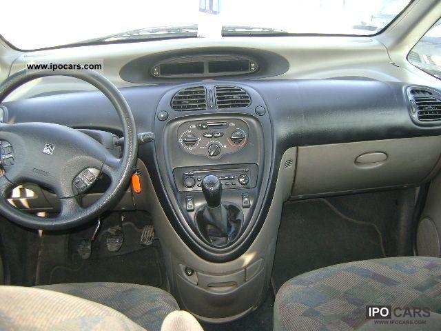 2002 citroen xsara picasso diesel 2 0 hdi car photo and specs Citroen Xsara 1999 Citroen Xsara 1999