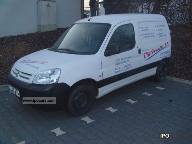 2006 citroen berlingo 1 9 d advance car photo and specs. Black Bedroom Furniture Sets. Home Design Ideas