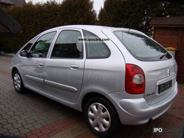 2003 citroen xsara picasso 2 0 hdi 90 koni climatronic car photo and specs. Black Bedroom Furniture Sets. Home Design Ideas