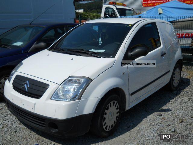 2007 Citroen  C2 1.4 HDI Van Truck approval ** Van / Minibus Used vehicle photo
