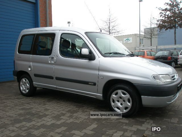 2002 citroen berlingo chrono car photo and specs. Black Bedroom Furniture Sets. Home Design Ideas