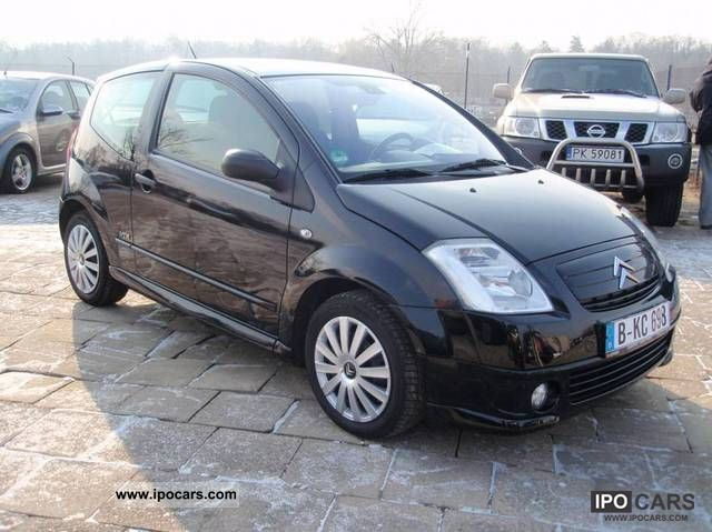 2005 citroen c2 vtr serwisowany climatronic car photo and specs. Black Bedroom Furniture Sets. Home Design Ideas