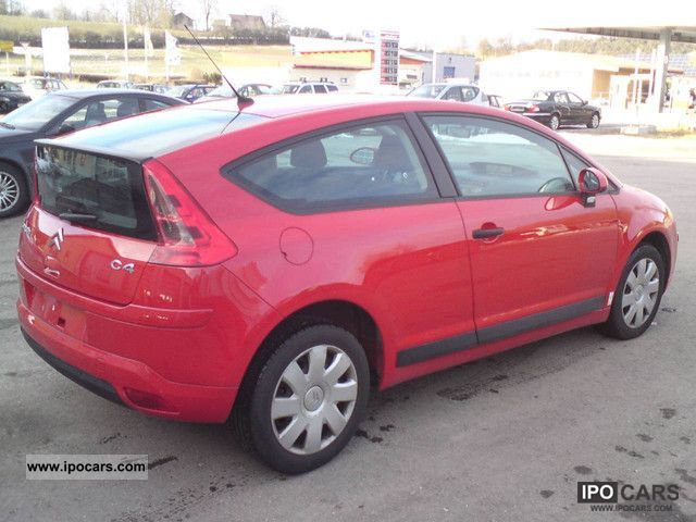 2007 citroen c4 coupe 1 6 hdi vtr car photo and specs. Black Bedroom Furniture Sets. Home Design Ideas