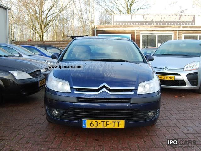 2006 citroen c4 1 6 hdi ligne business car photo and specs. Black Bedroom Furniture Sets. Home Design Ideas