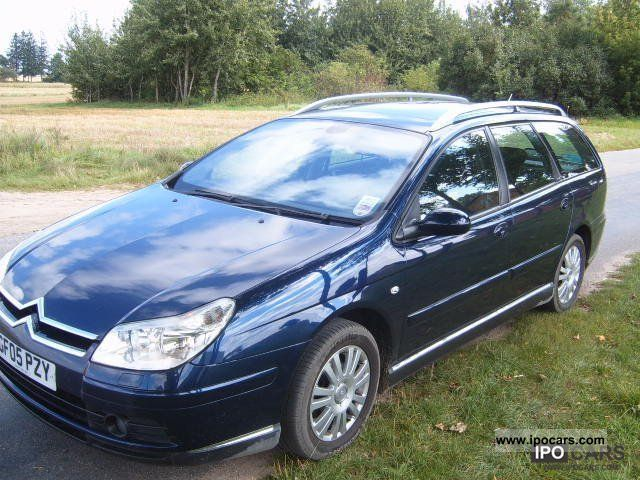 2005 citroen c5 vtr car photo and specs. Black Bedroom Furniture Sets. Home Design Ideas