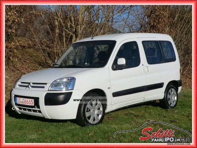 b098dacb767ce5 2006 Citroen Berlingo Multispace 1.6 HDI   AIR CONDITIONING € 4   Van    Minibus Used