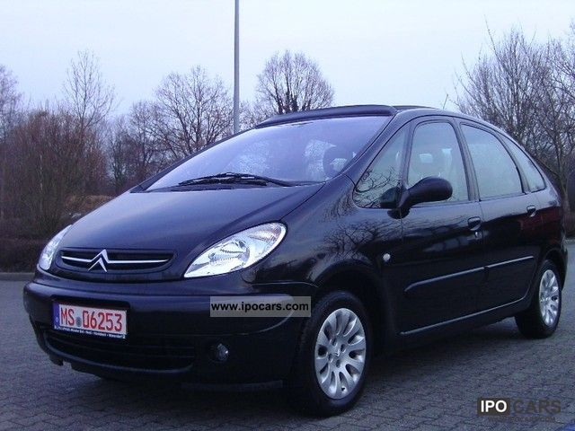 2002 citroen xsara picasso exclusive 2 0 hdi panoramic roof car photo and specs. Black Bedroom Furniture Sets. Home Design Ideas