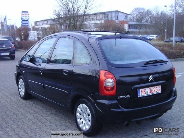 2002 citroen xsara picasso exclusive 2 0 hdi panoramic. Black Bedroom Furniture Sets. Home Design Ideas