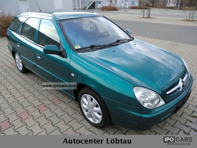 2003 Citroen  Xsara Kombi 2.0 HDi SX Estate Car Used vehicle photo