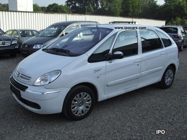 2008 citroen xsara picasso 1 6 hdi car photo and specs. Black Bedroom Furniture Sets. Home Design Ideas