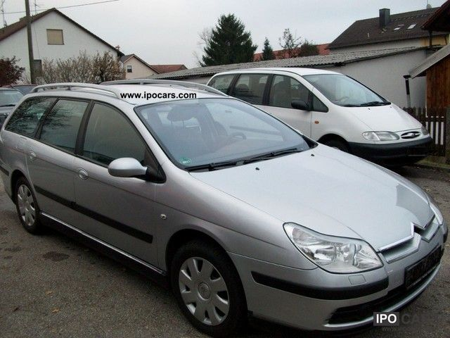 2005 citroen c5 hdi 110 euro4 car photo and specs. Black Bedroom Furniture Sets. Home Design Ideas