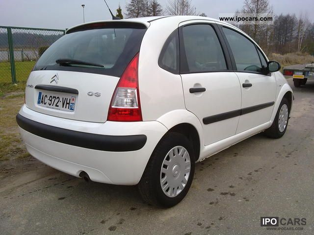 2008 citroen c3 2008 climate zarejstrowany 5 osob car photo and specs. Black Bedroom Furniture Sets. Home Design Ideas